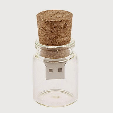 Memoria USB 16 GB Corcho en Botella