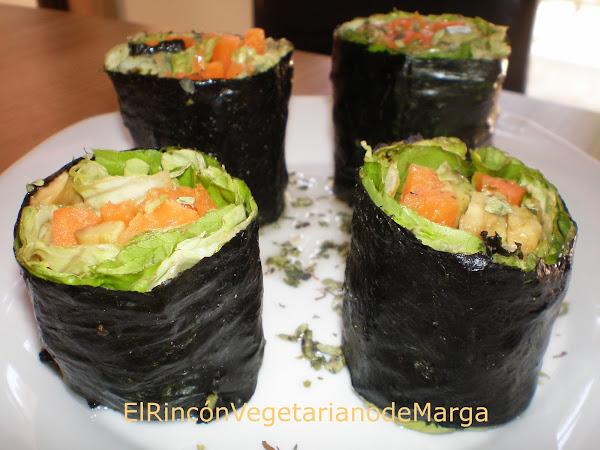 Nori maki cocinar en casa es - Cocinar sushi facil ...