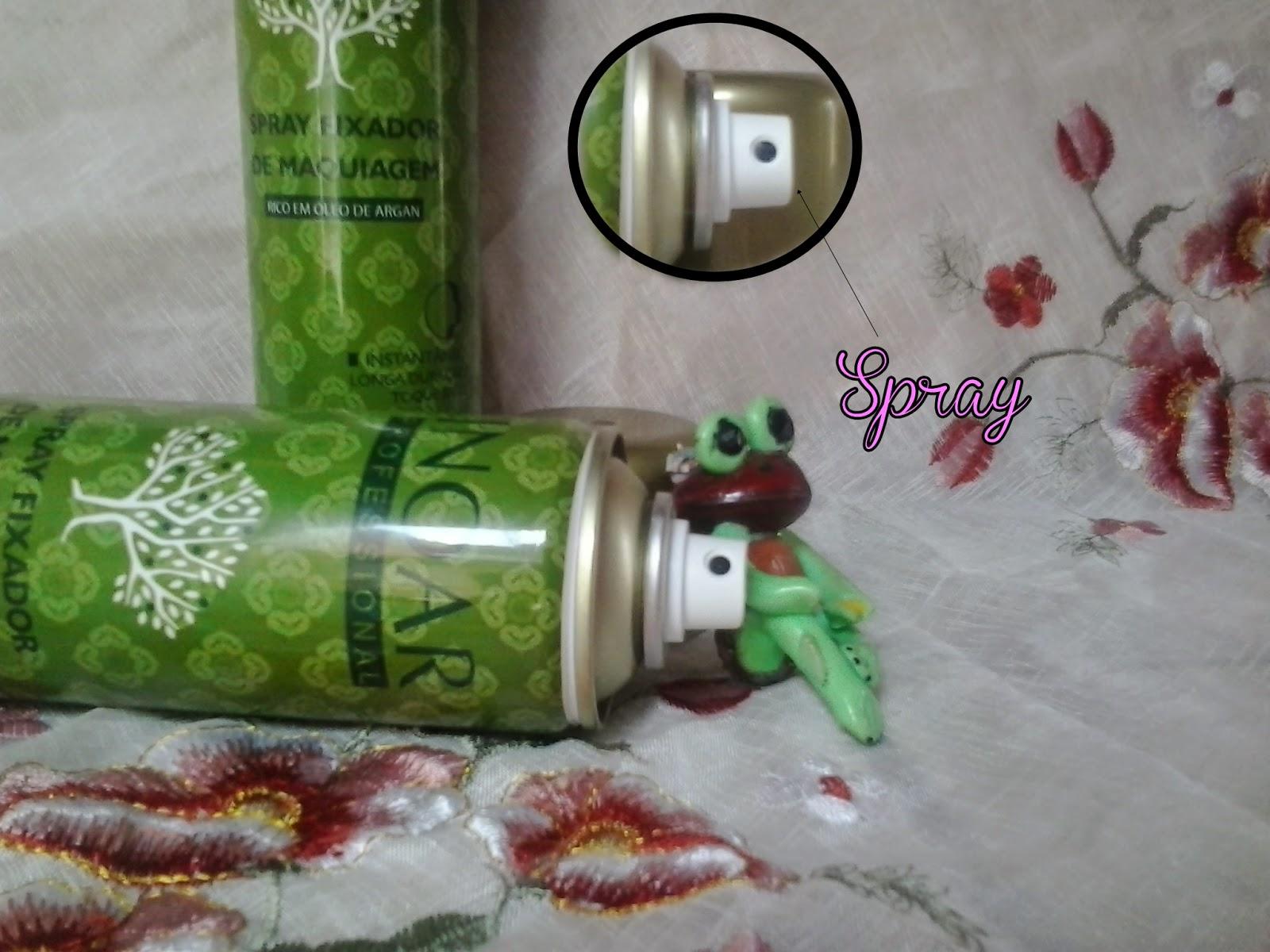 Resenha Spray Fixador de Maquiagem INOAR