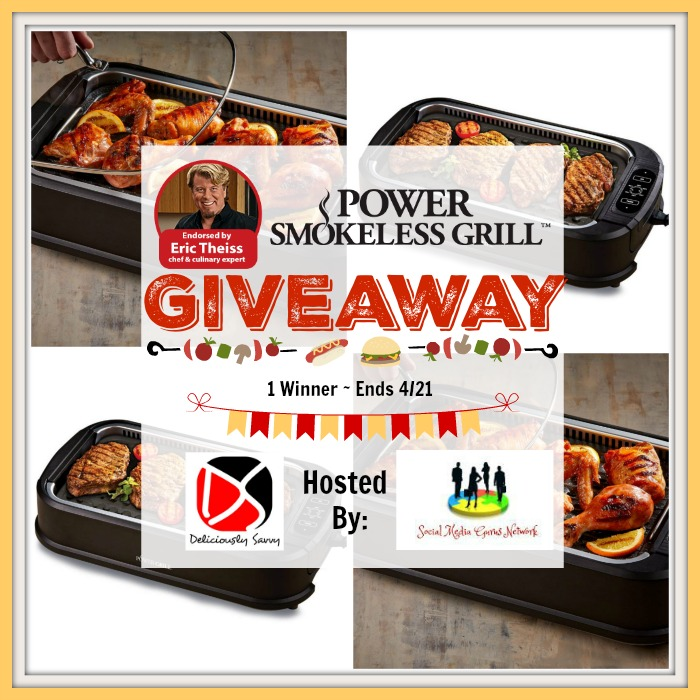 Power Smokeless Grill Giveaway