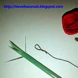 cara membuat bunga dari kertas 6