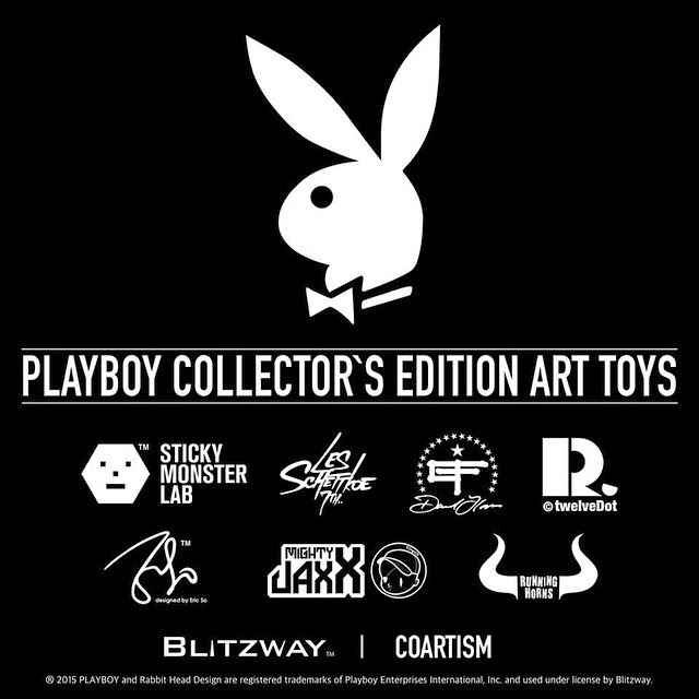 The Playboy Designer Art Toy Series presented by Coartism & Blitzway