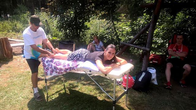 Florin Chindea, maseur la Runsilvania Wild Race 2015. Masaj din Timişoara la Răchiţele
