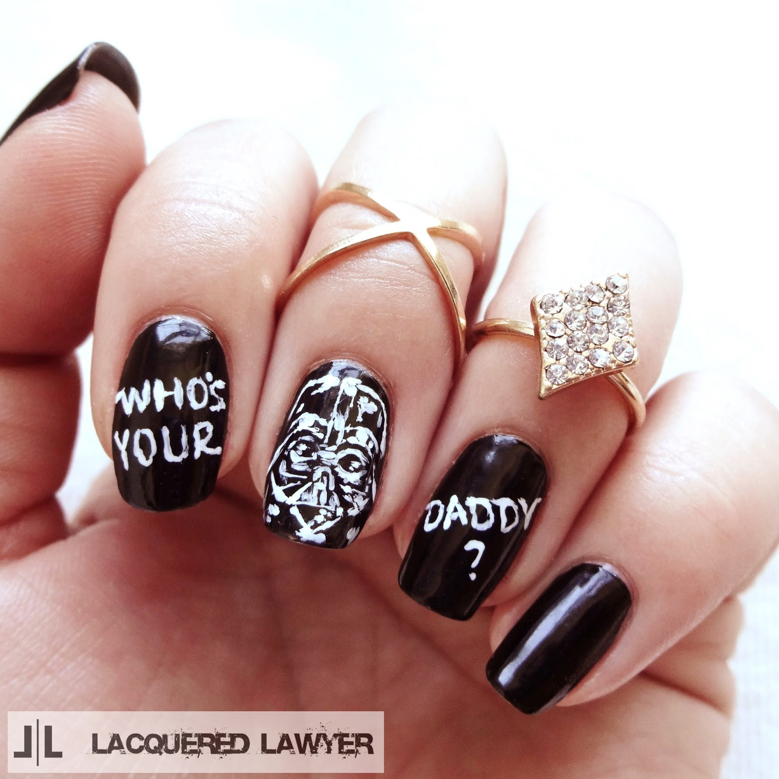 Lacquered Lawyer | Nail Art Blog: Who\'s Your Daddy?