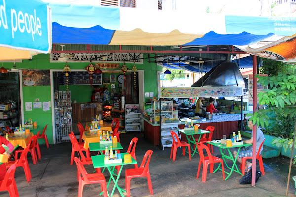 Restaurante Daolin en Pakse - Laos