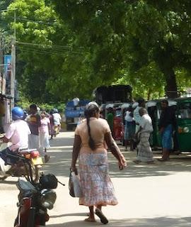 Sari et habits du Sri Lanka