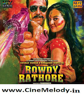 Rowdy Rathore Hindi movie dvd -2012