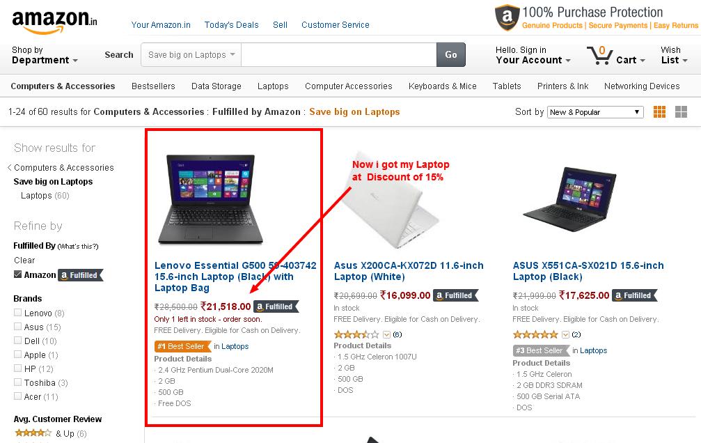 CouponzGuru Review Laptop Deal