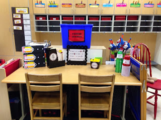 Guest blog post from Jaime at The First Grade Bloom who shares how to Keep Students Busy With Cups!