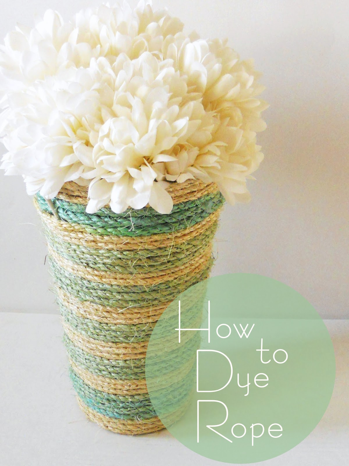 How to Dye Rope