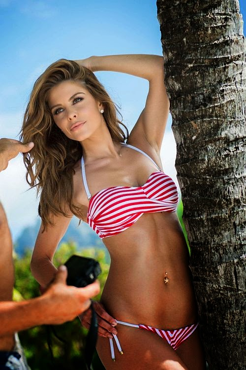 Which is why when her beauty anatomy was burglarized in a positive outlook, and we're sure it won't be the last. There was definitely something about Maria Menounos as she was snapped to enjoying a vacation in Bora Bora on Monday, June 23, 2014.