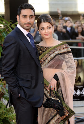 Aishwarya Rai and Abishek stills