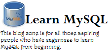 Learn MySQL