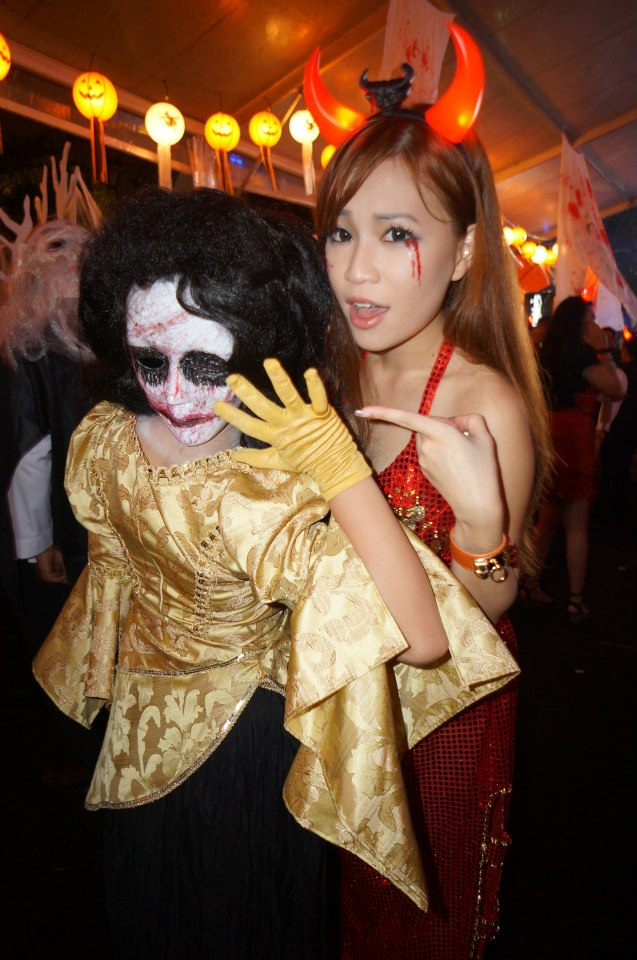 Two Faced Woman Costume