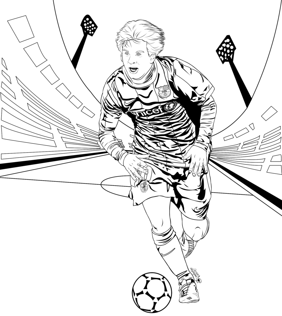 coloring pages barcelona fc schedule - photo#26