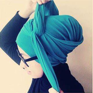 Kreasi Jilbab Paris Yang Simple