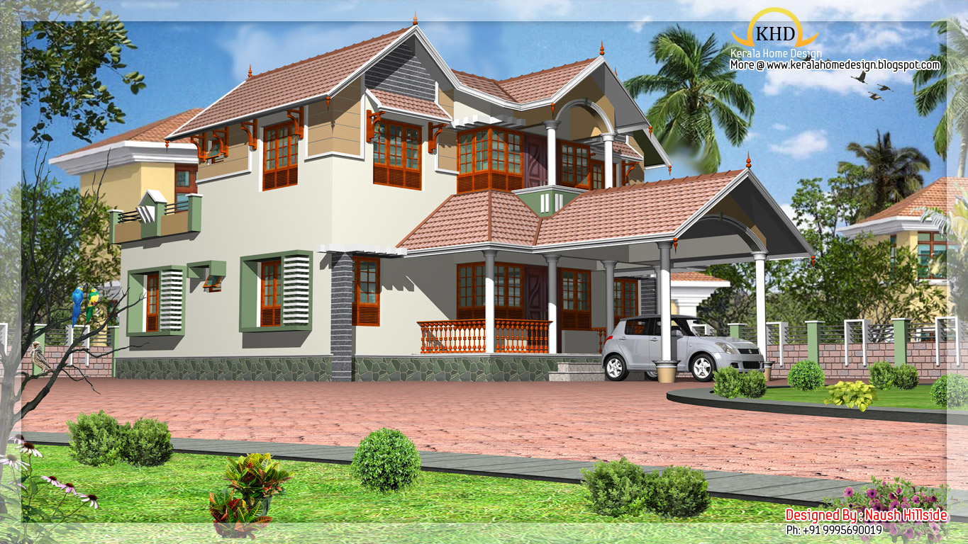 Duplex Home Elevation - 2284 Sq. Ft