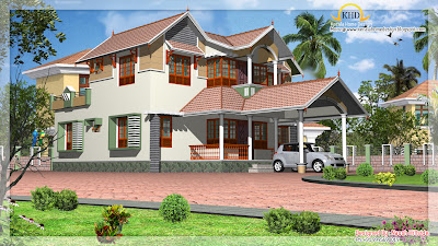 Home Elevation - 212 Sq M (2284 Sq. Ft) - January 2012
