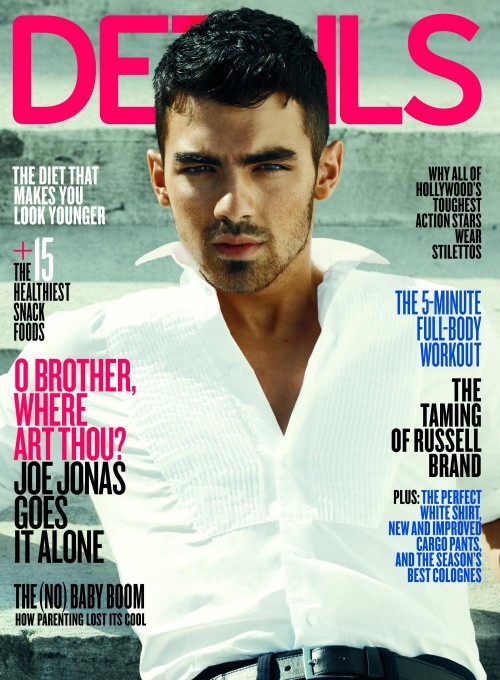 The middle Jonas brother, 21, was bluntly asked if he's gay by paparazzi .