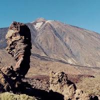 Roque Cinchado en el Parque Nacional del Teide