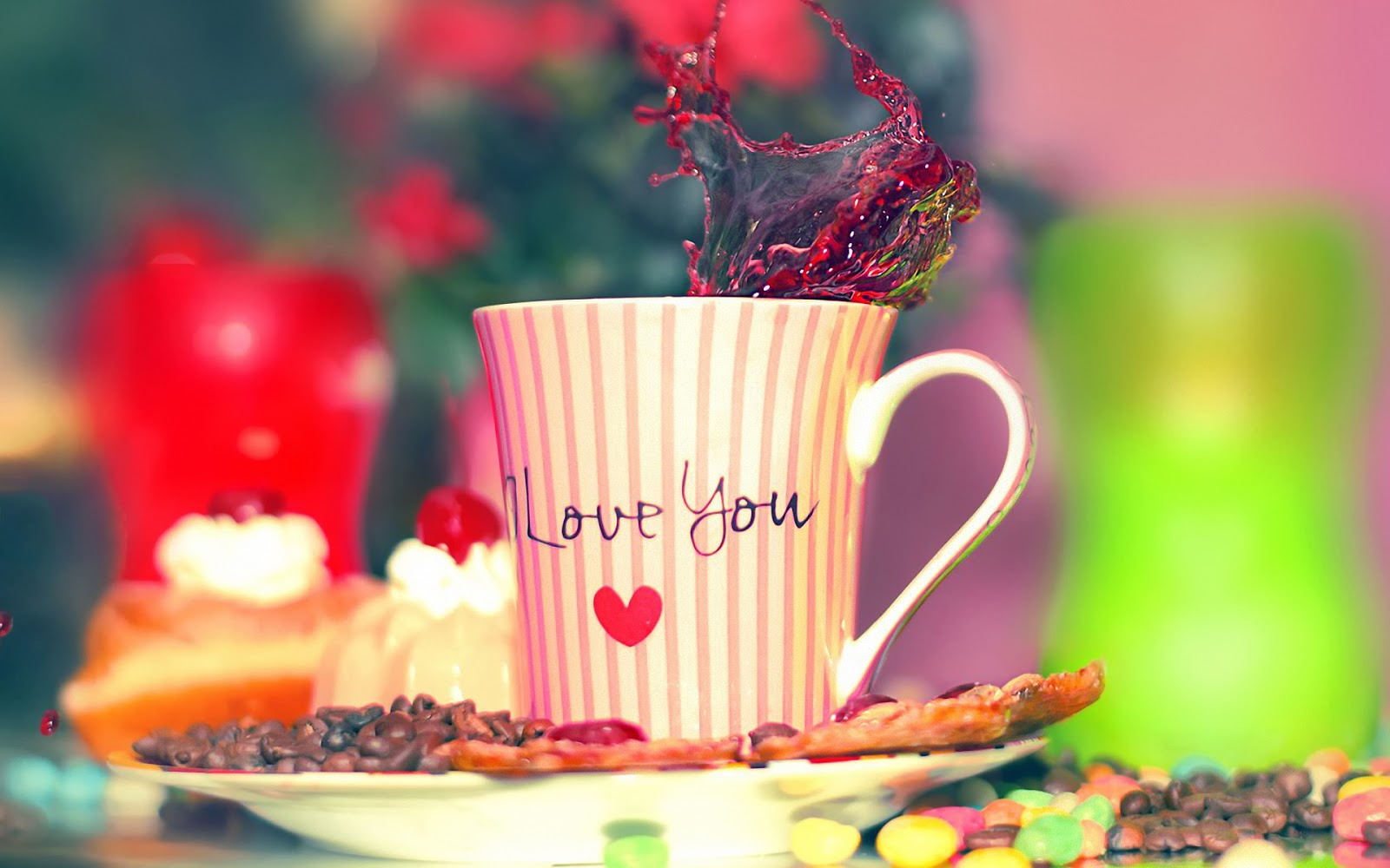 Cute Cup I Love You Images free Download