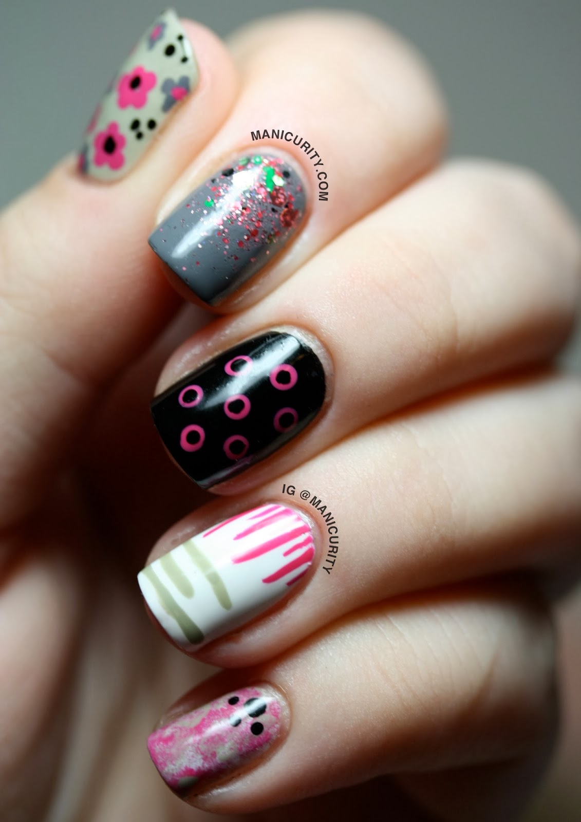 Manicurity: What are the 12 Easiest Nail Art Patterns?!