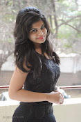 Alekya Photos in Black at Aa Aiduguru Press meet-thumbnail-13