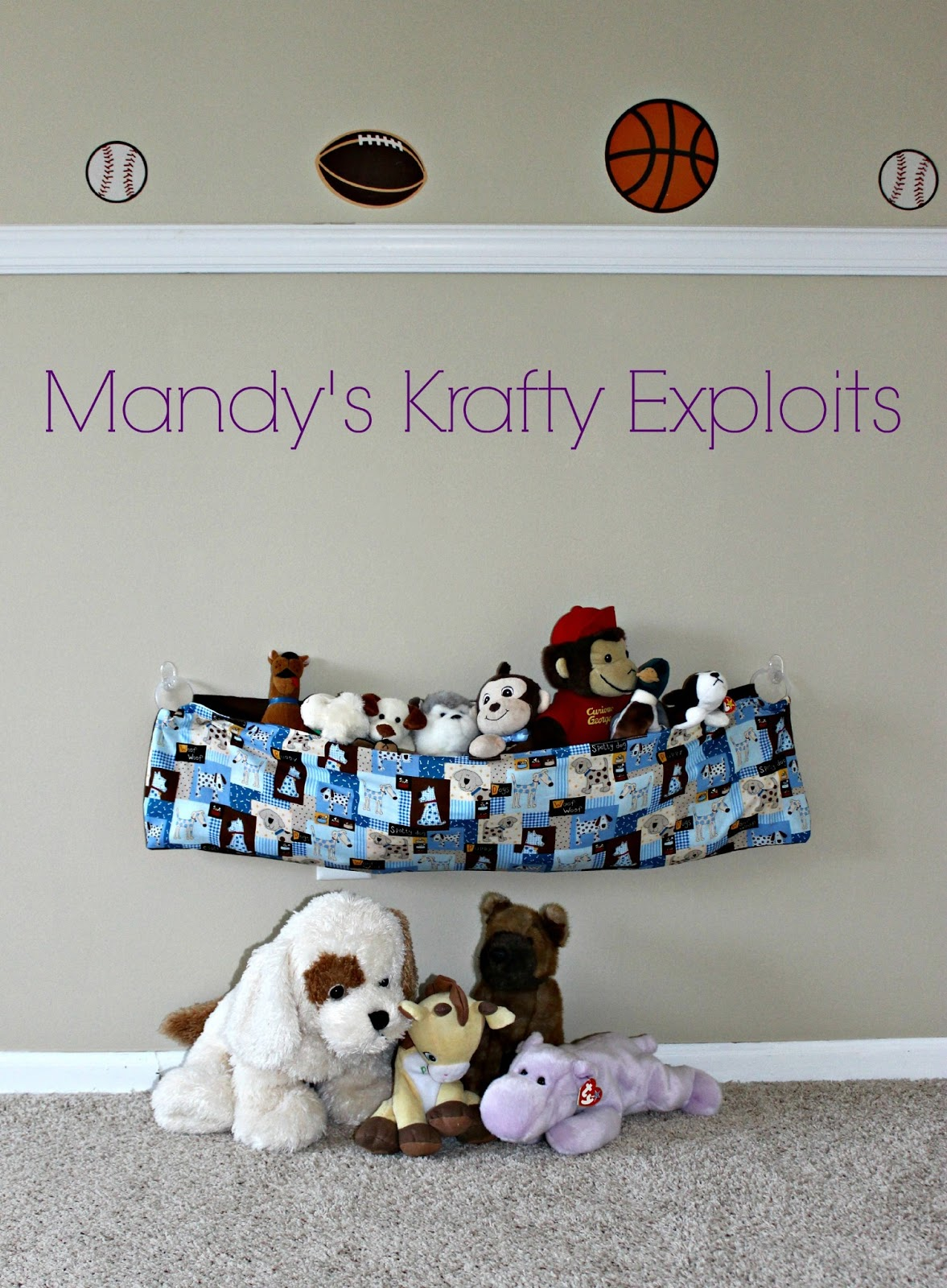 Superieur Stuffed Animal Storage