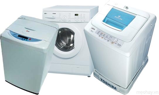 Không nên đặt máy giặt trong nhà bếp