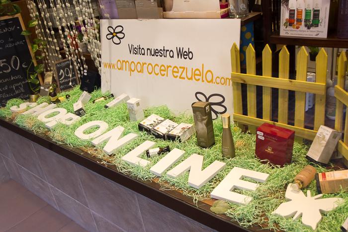 tienda internet productos cosmetica natural www.amparocerezuela.com
