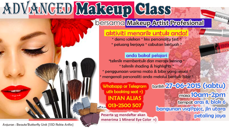 Upcoming Beauty Workshop