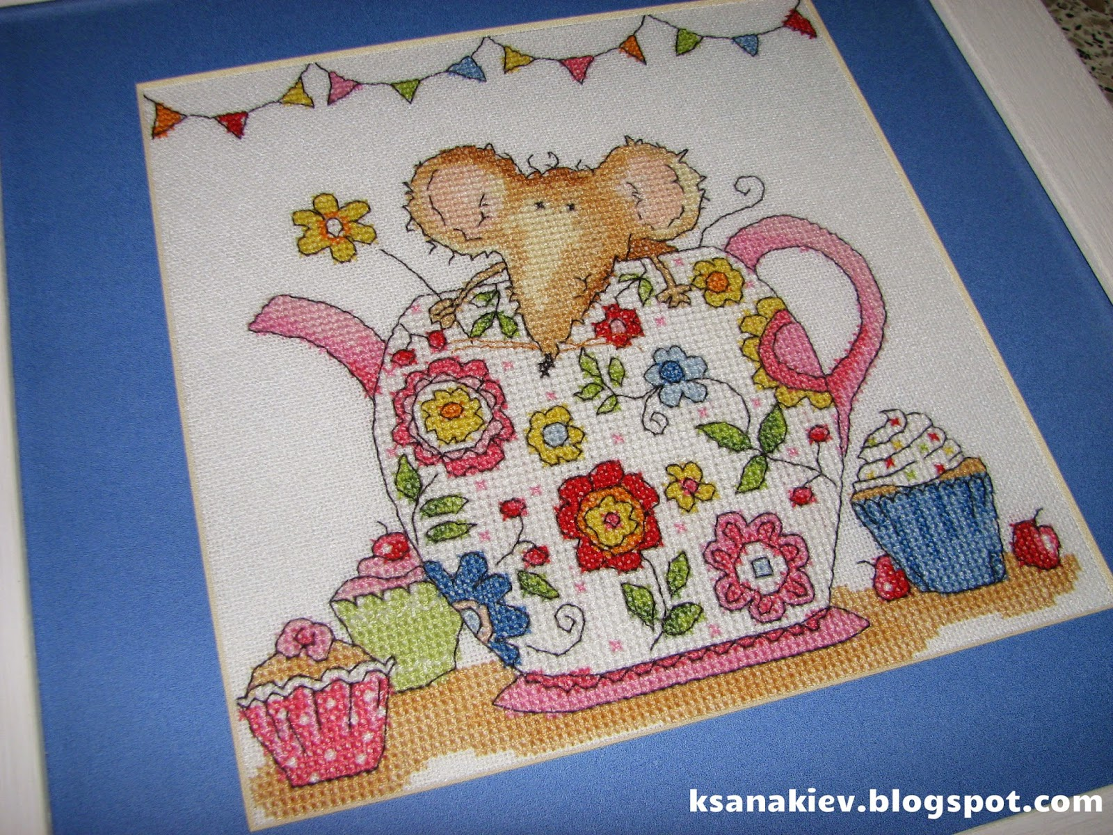 Bothy Threads  Teapot Mouse