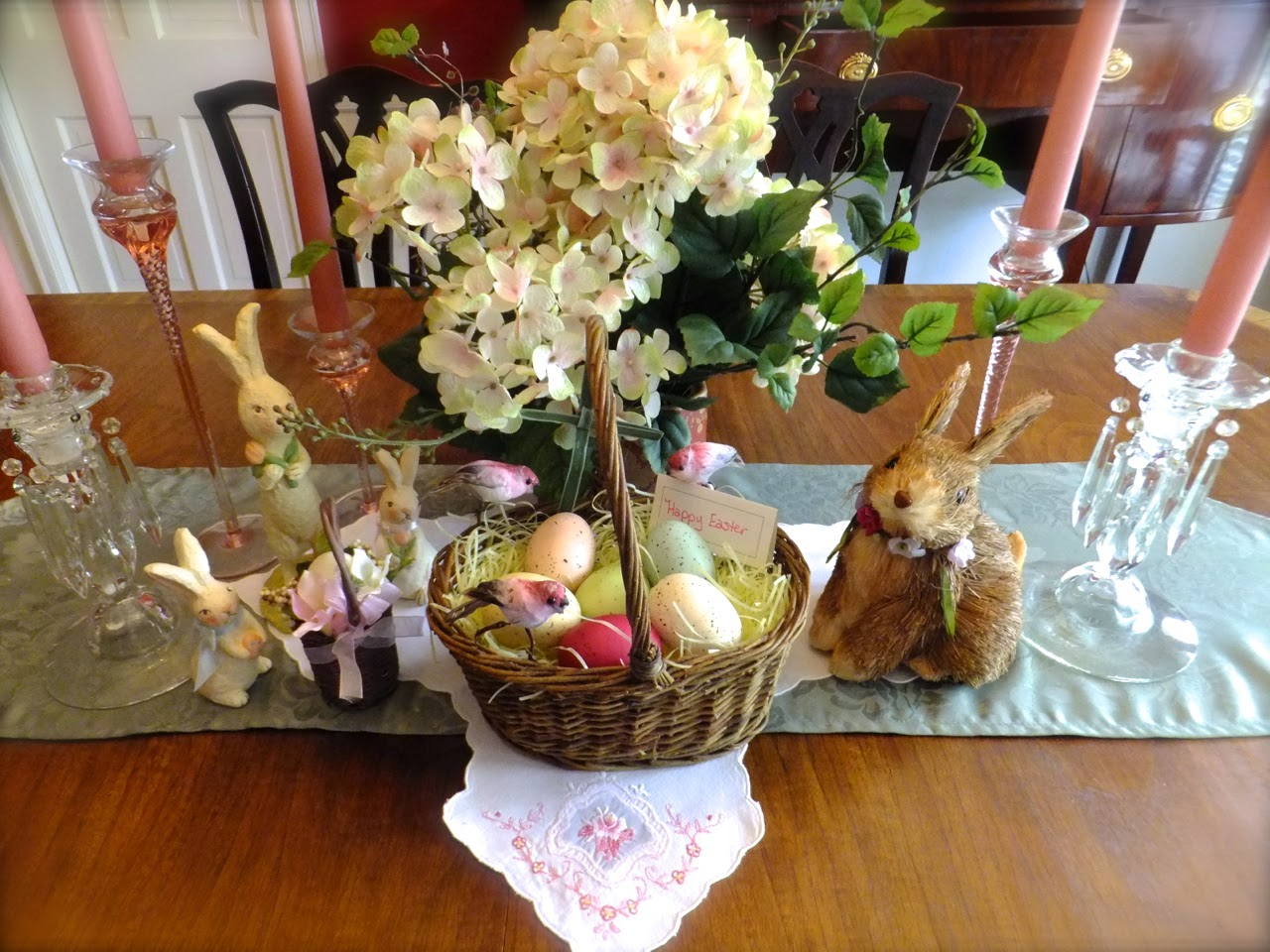 Ash tree cottage simple easter centerpiece