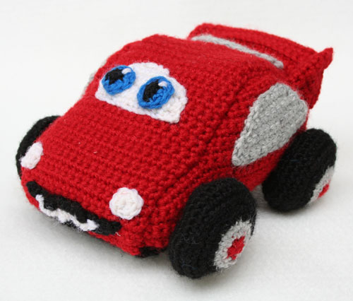 Macchina Cars amigurumi