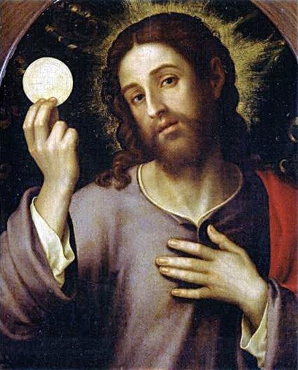 """""""Yo soy el pan vivo que ha bajado del cielo: el que come de este pan, vivirá para siempre."""