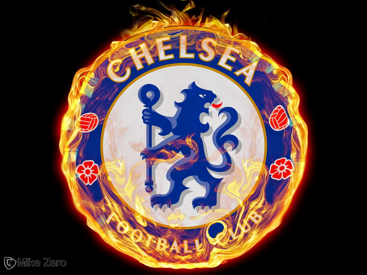 Logo Chelsea FC Wallpaper HD desktop