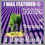 Featured on Thriving on Thursday