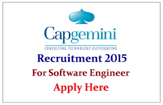 Capgemini Hiring freshers for Software Engineer