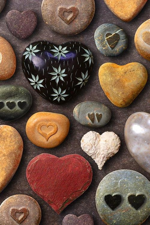 Pedras decoradas
