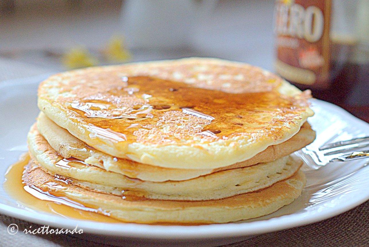 Pancake ricetta originale delle focaccine americane