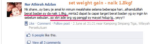 Testimoni weight gain , testimoni weight gain shaklee, weight gain shaklee