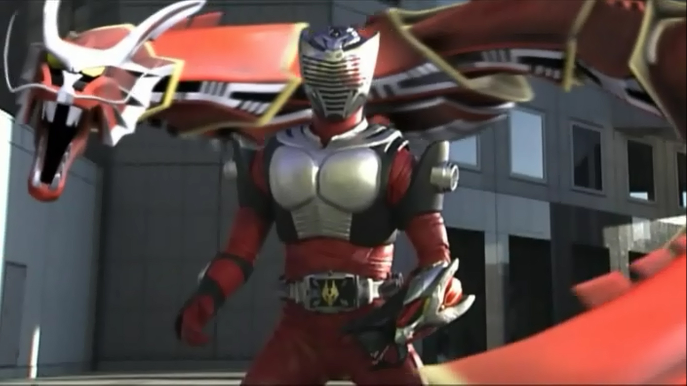my shiny toy robots series review kamen rider ryuki