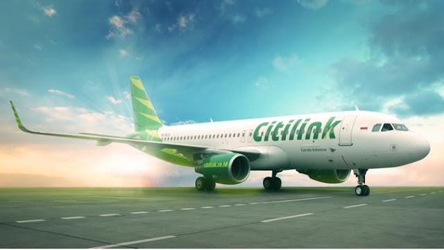 pesawat terbang citilink indonesia
