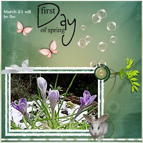 page 2 First day of Spring