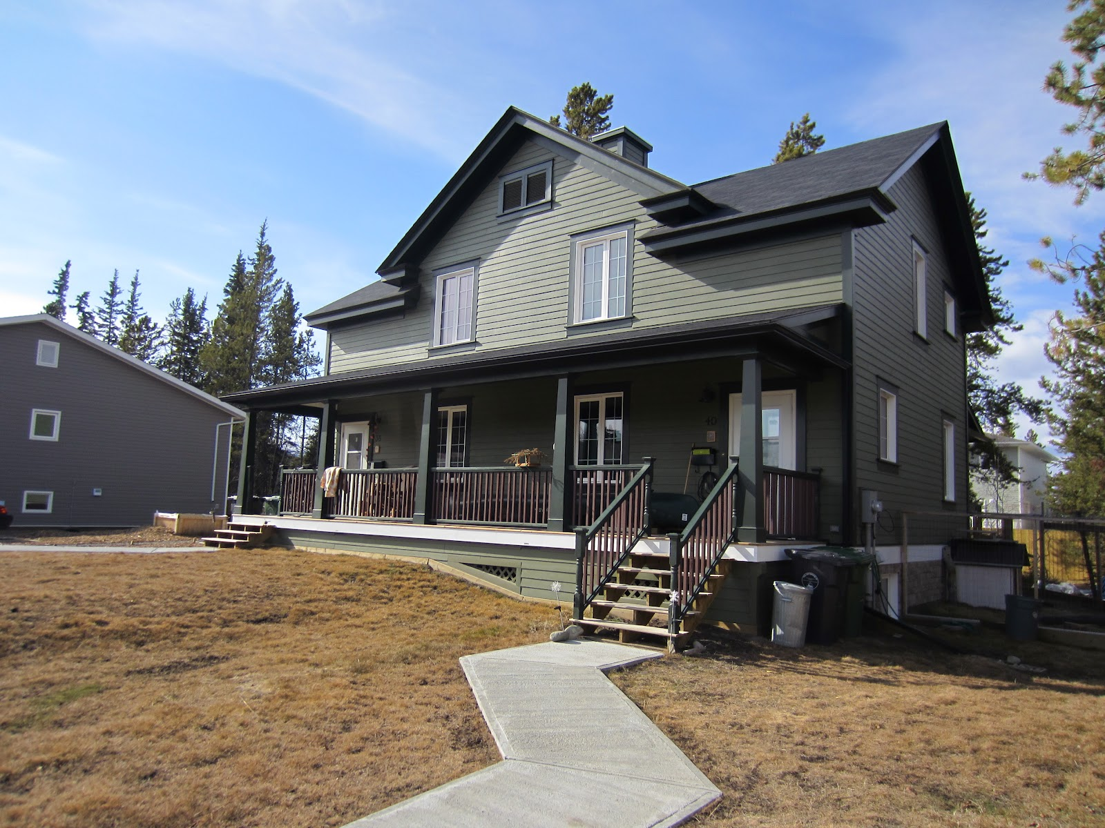 Old way of seeing leed gold yukon 39 s first leed canada for Leed certification for homes