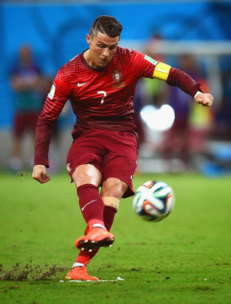 cristiano ronaldo new haircut 2014 world cup with shaved lines