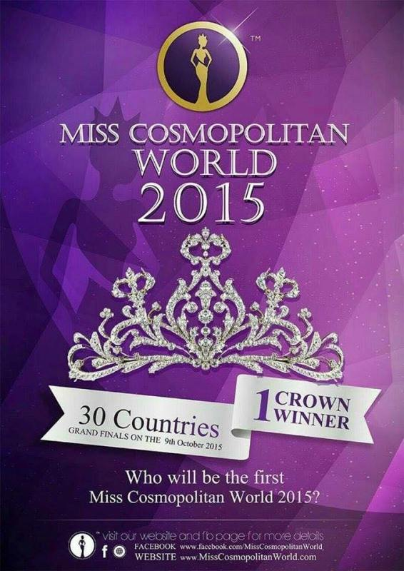 Vote for your favorite contestants of Miss Cosmopolitan World 2015 MISS POPULARITY!