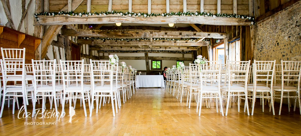 Inside The Barn We Kept It Pretty Minimalistic Across Beams Laid Rose Garlands And Fairy Lights These Really Did Add To Rustic Charm