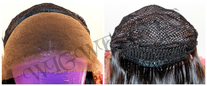 Custom  Hand Ventilation Free Parting Lace Front Wigs