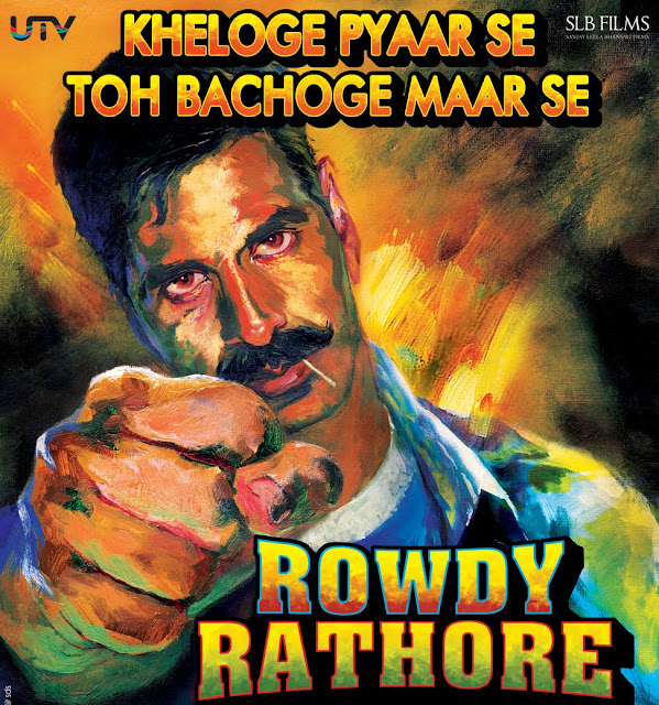 Rowdy Rathore movie wallpapers images